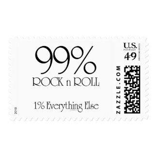 99% Rock n Roll Stamps