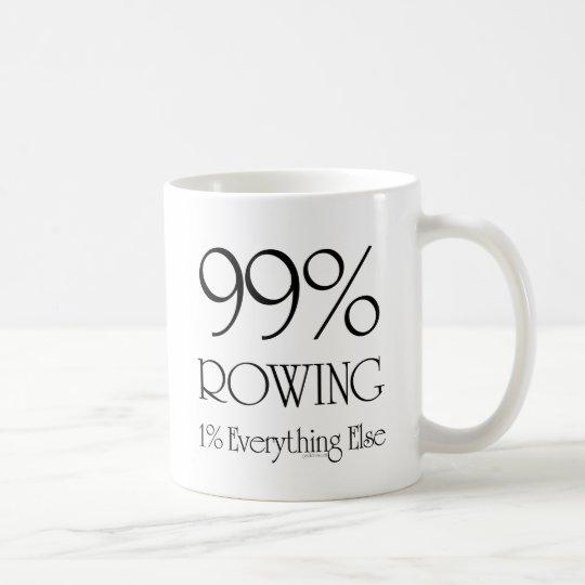 99% Rowing Coffee Mug