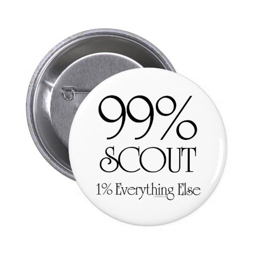 99% Scout 2 Inch Round Button