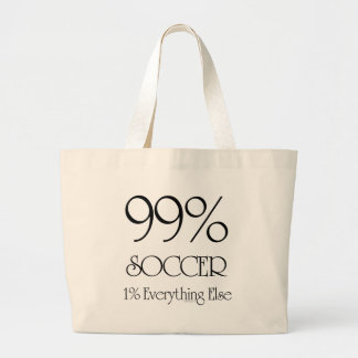 99% Soccer Canvas Bag