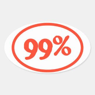 """""""99%"""" Sticker"""