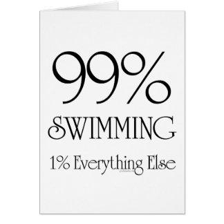 99% Swimming Card