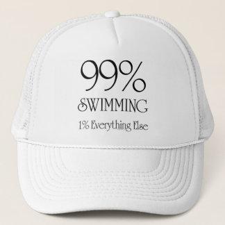 99% Swimming Trucker Hat