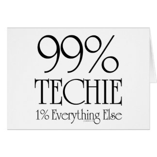 99% Techie Card