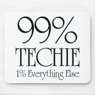 99% Techie Mouse Pad
