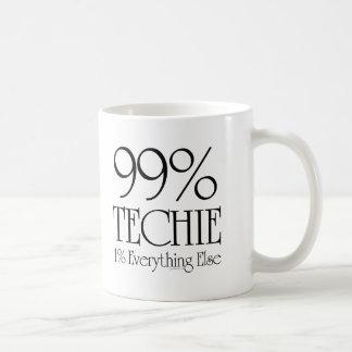 99% Techie Coffee Mugs
