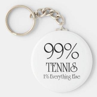 99% Tennis Keychain