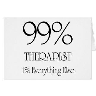 99% Therapist Card