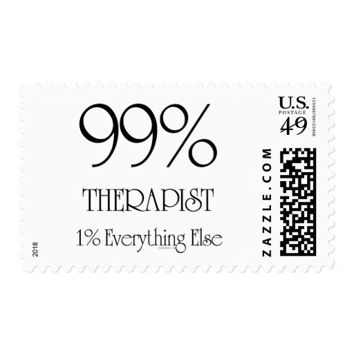 99% Therapist Postage Stamps
