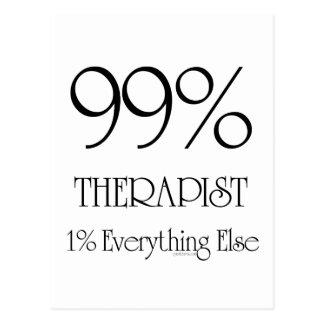 99% Therapist Postcard