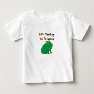 99% Tomboy 1% Princess Baby T-Shirt