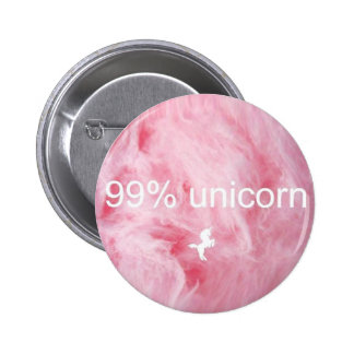 99% Unicorn Button! Pinback Button