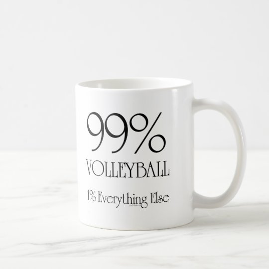 99% Volleyball Coffee Mug
