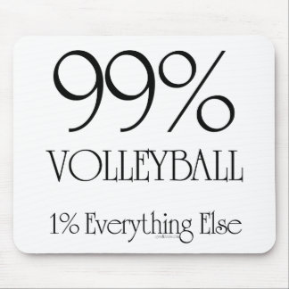 99% Volleyball Mouse Mat