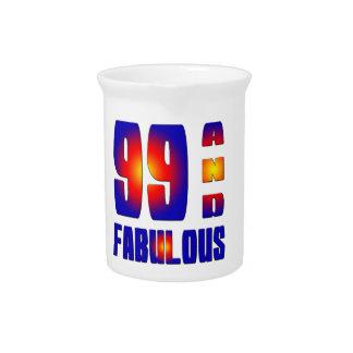 99 y fabuloso jarrones