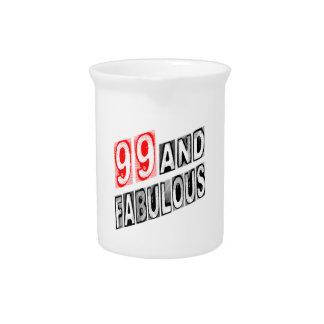 99 y fabuloso jarras