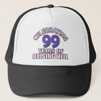 99 year old designs trucker hat