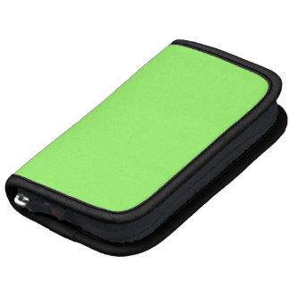 99FF66 Green Folio Planner