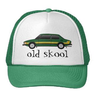 99T_sedan con las rayas, skool viejo Gorras