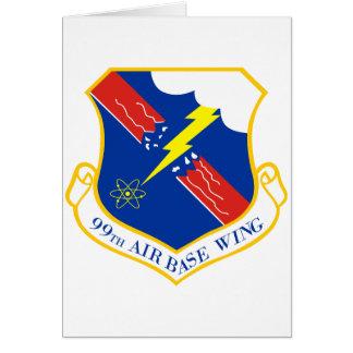 99th Air Base Wing Card