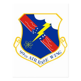 99th Air Base Wing Postcard
