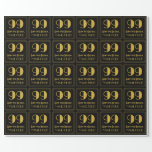 """[ Thumbnail: 99th Birthday ~ Art Deco Inspired Look """"99"""", Name Wrapping Paper ]"""