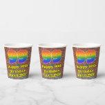 [ Thumbnail: 99th Birthday: Fun Graffiti-Inspired Rainbow 99 ]