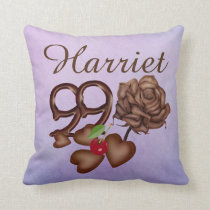 99th birthday Harriet pillows