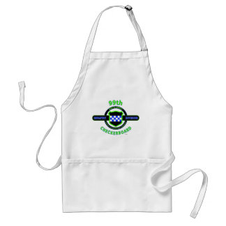 """99TH INFANTRY DIVISION """"CHECKERBOARD"""" DIVISION ADULT APRON"""