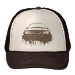 99turbo GG_brown Trucker Hats