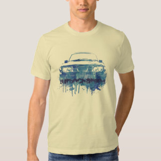 99turbo water color grunge blue, turbocharged shirt