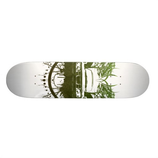 99turbogrunge_organic_bark skateboard deck