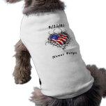 9/11/01 Patriotic Tattoo Dog Clothes