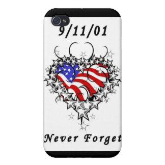 9/11/01 Patriotic Tattoo iPhone 4 Cover