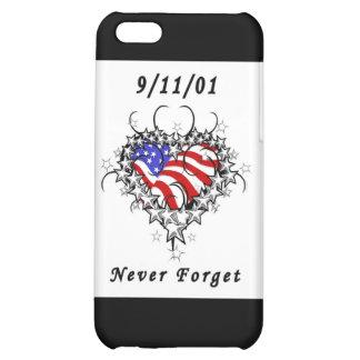 9/11/01 Patriotic Tattoo iPhone 5C Cases