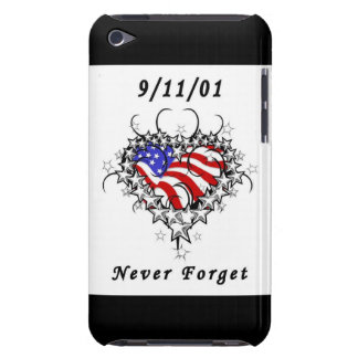 9/11/01 Patriotic Tattoo iPod Touch Cover