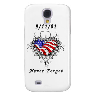 9/11/01 Patriotic Tattoo Samsung Galaxy S4 Case