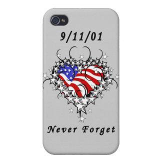9/11/01 Patriotic Too iPhone 4/4S Cases