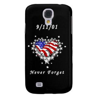 9/11/01 patriótico también funda para galaxy s4