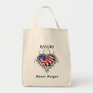 9/11/01 tatuaje patriótico