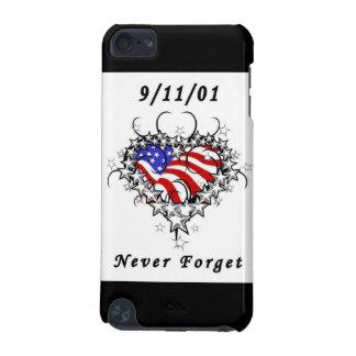 9/11/01 tatuaje patriótico funda para iPod touch 5G