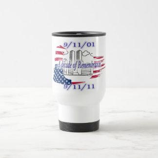 9-11 10mo aniversario conmemorativo tazas