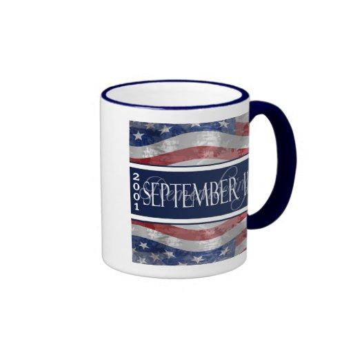 9/11 10th Anniversary Commemorative Mug