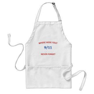 9/11/2001 ADULT APRON