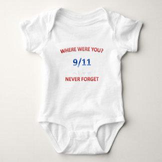 9/11/2001 BABY BODYSUIT