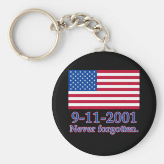 9-11-2001 camisetas nunca olvidadas, botones llavero redondo tipo pin