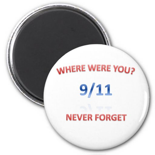 9/11/2001 IMÁN REDONDO 5 CM