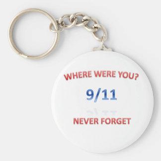 9/11/2001 KEYCHAIN