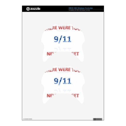 9/11/2001 MANDO XBOX 360 SKINS
