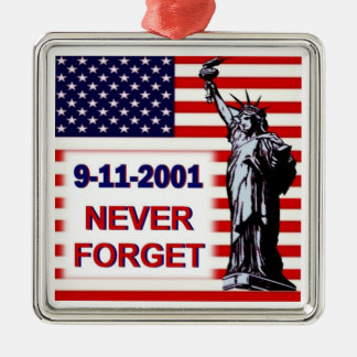 9-11-2001-Never Forget Ornament